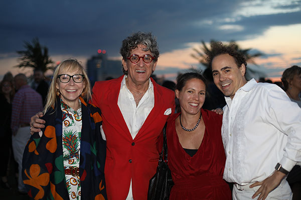Charles Pavarini III and Randall Tarasuk of Pavarini Design, with former ASID NY Metro president Susan Anthony (left) and Jennifer Skoda