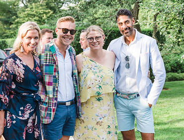 Traditional Home hosts garden party