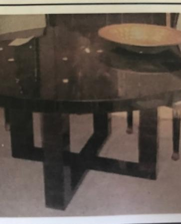 Macassar Ebony Table