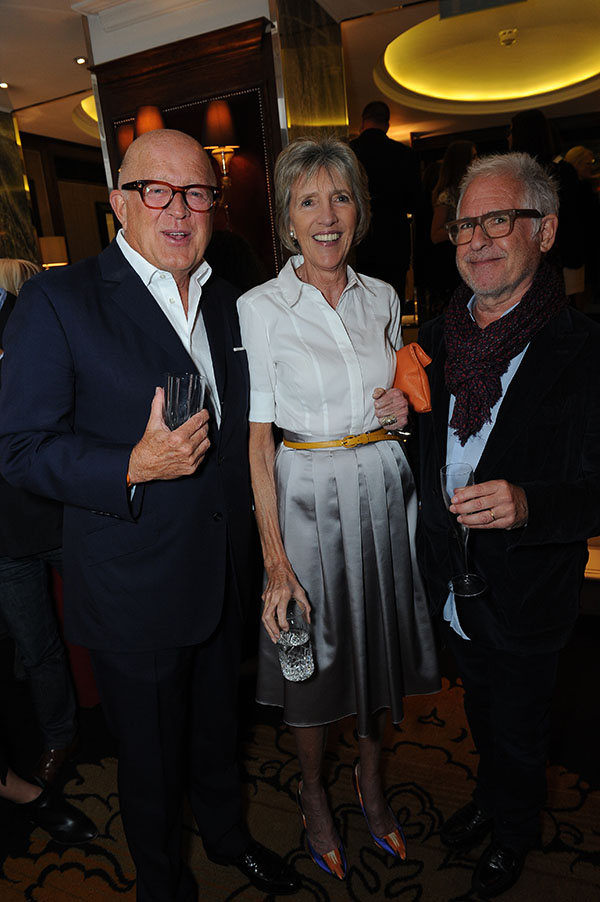 Verre Grenney, Jane Churchill and David Bentheim