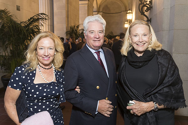 Sally Fay, Charles McGettigan and Cia Townsend