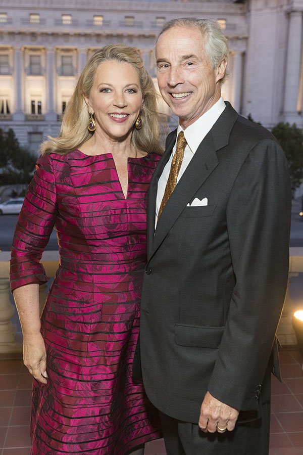 Suzanne Tucker and Timothy Marks