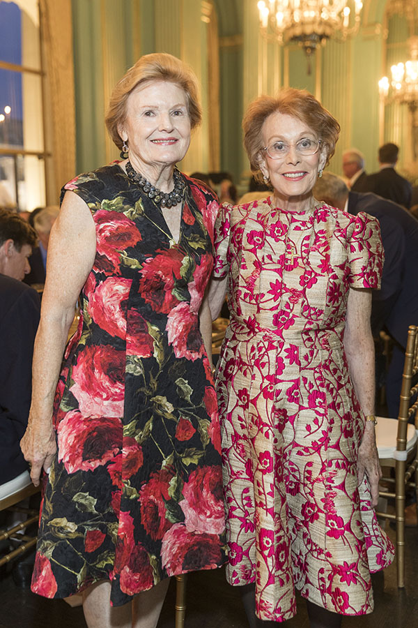Connie Goodyear Baron and Phoebe Cowles