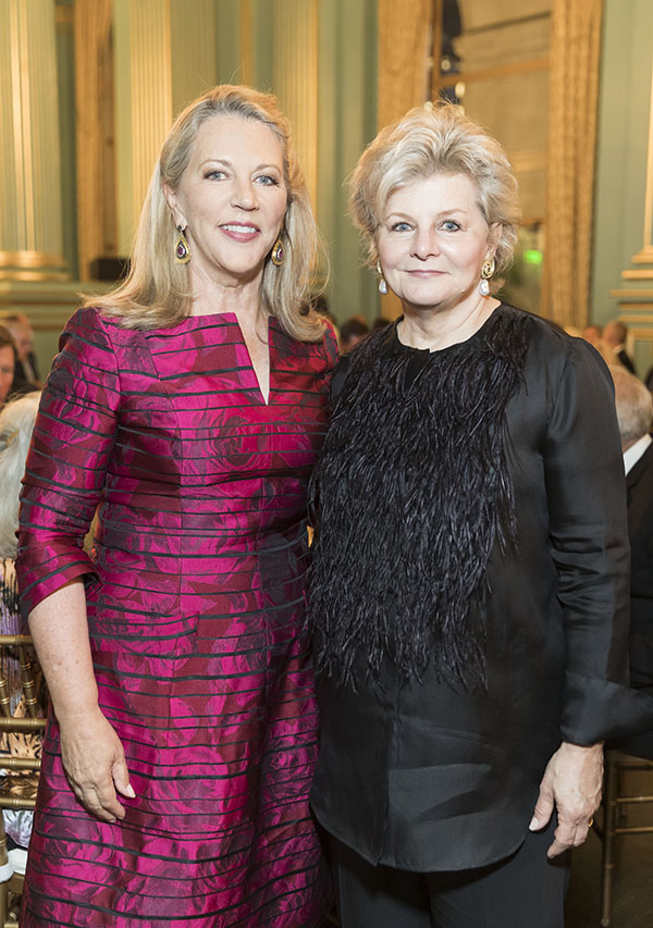 Suzanne Tucker and Charlotte Moss