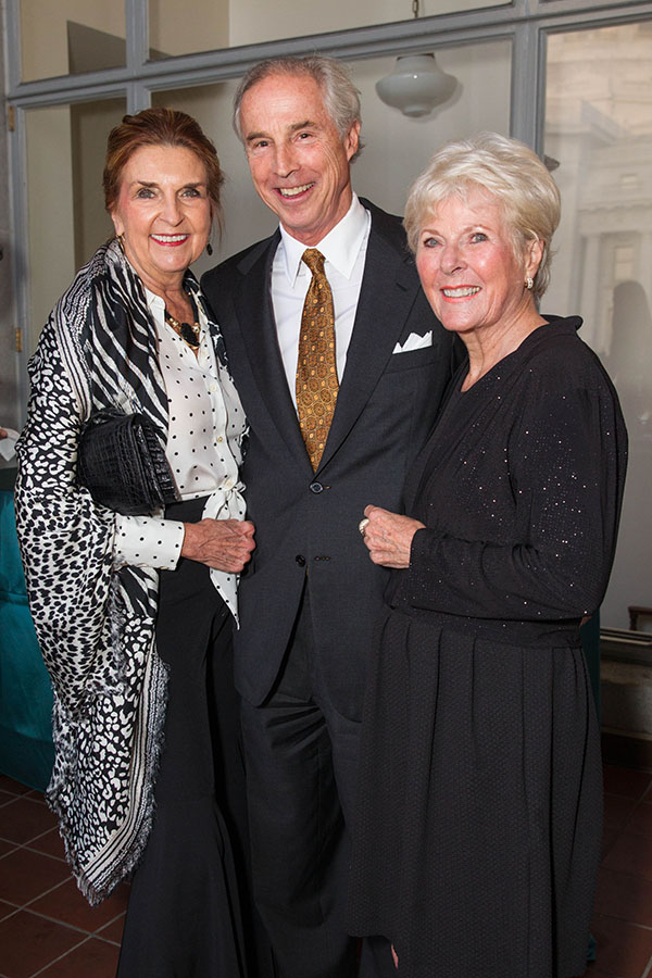 Phyllis Washington, Timothy Marks and Kay Evans