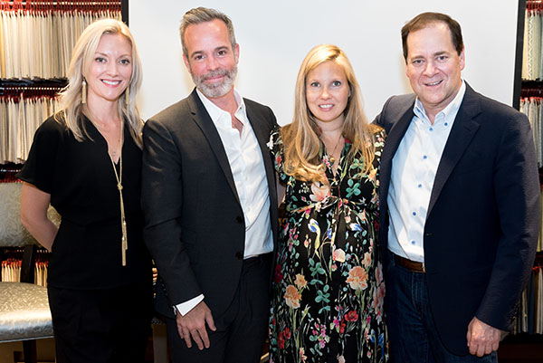 Danielle St. George, Richard Ouellette, Business of Home contributing editor Mieke ten Have and Cary Kravet