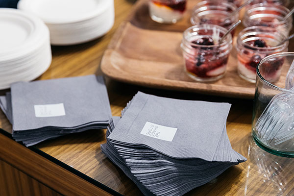The Shade Store napkins