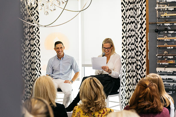 Jonathan Adler and Monica Pedersen