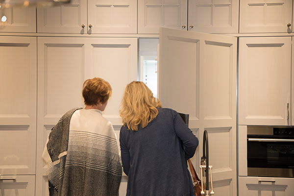 Guests explore the new Edison Heights collection.