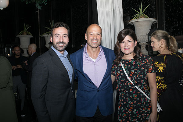 Ruso Panduro, David Rosenblatt and Pamela Meech