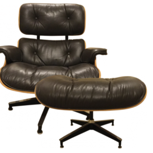 Eames arm chair   ottoman