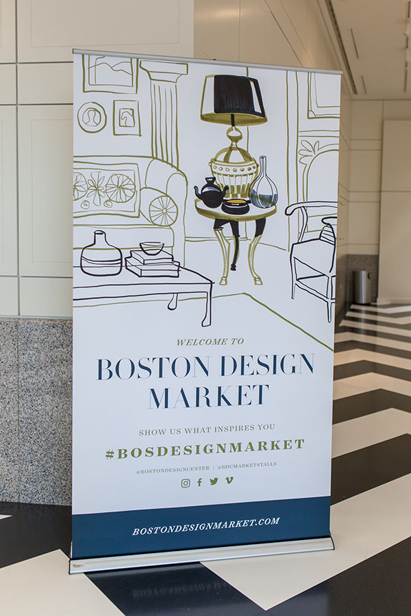 Boston Design Market poster