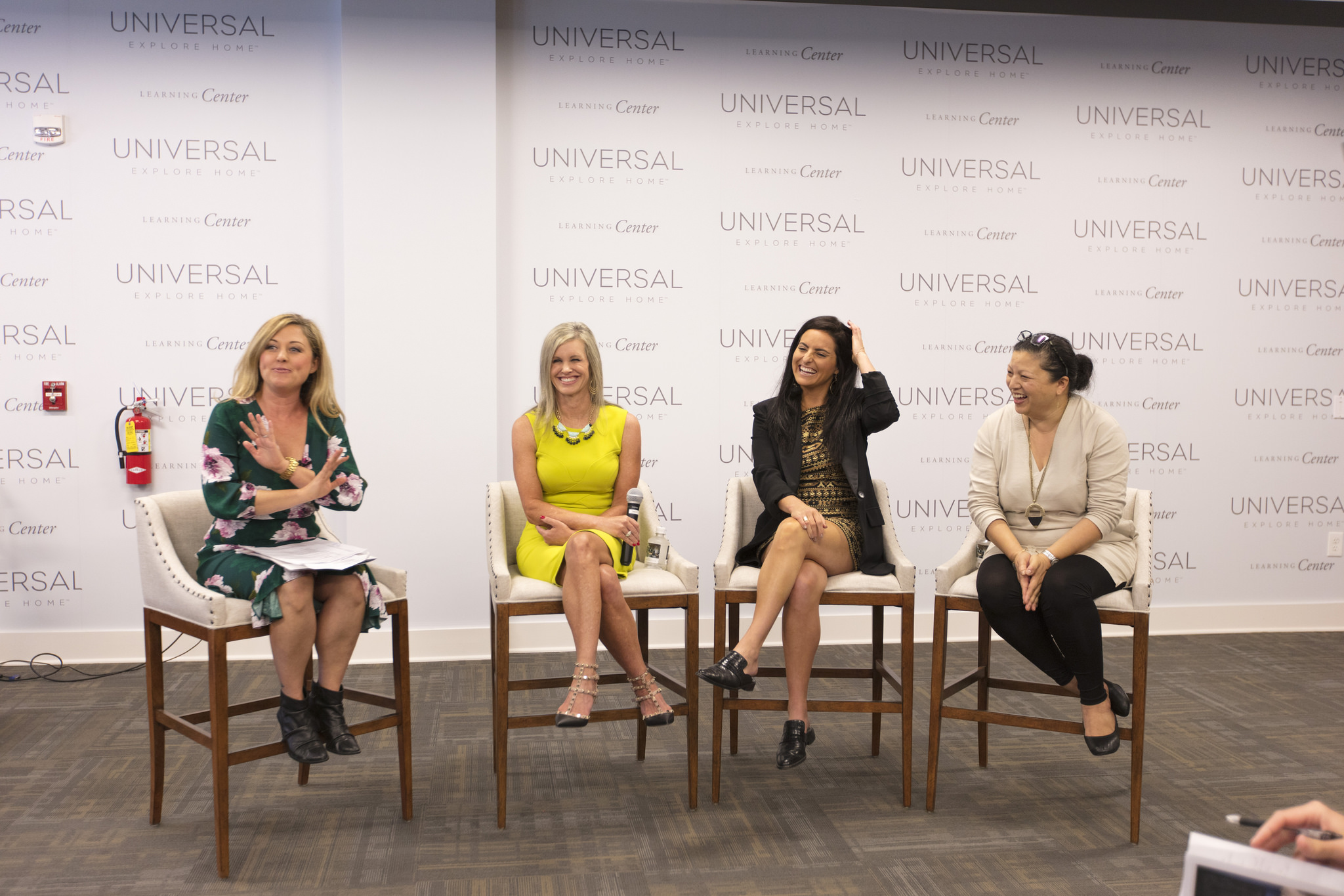 The 'Profitable Partnerships' panel: Kelly Edwards, Kristin Drohan, Reisa Elden and Jeanne Chung