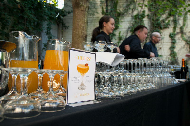 Guests enjoyed the signature La Fete drink  featured in the September/October issue.