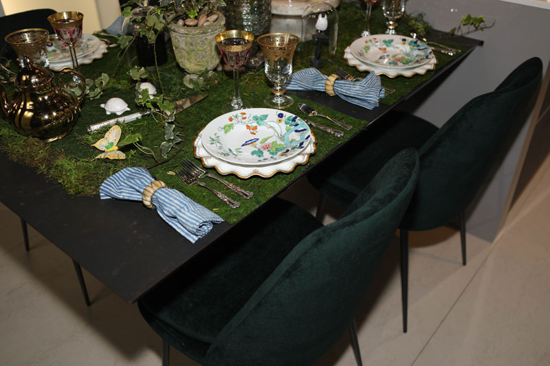 Tabletop styled by Rayman Boozer