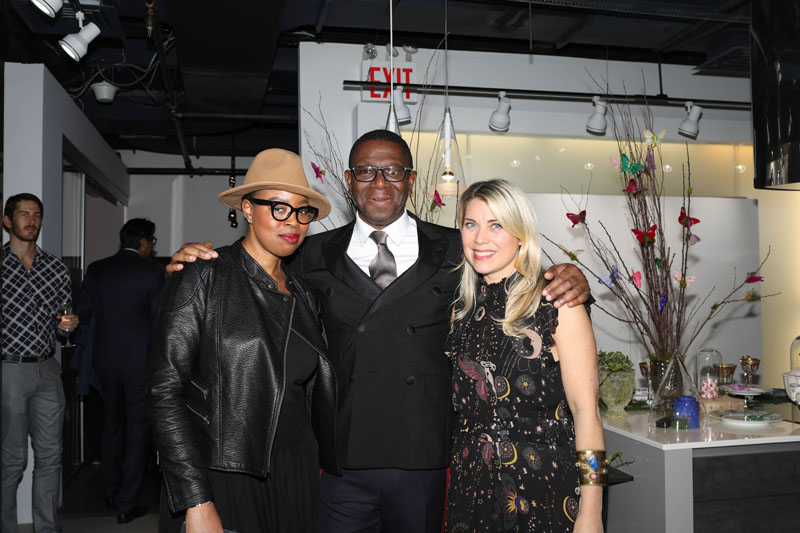 Tamiko Hargrove, Rayman Boozer and Traditional Home editor Tori Mellott