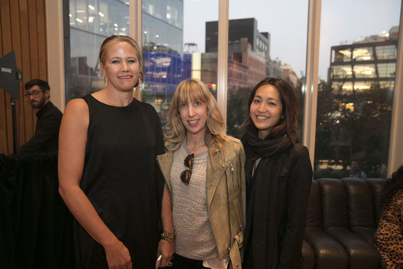 Cate Andrews, Alison Rose and Eva Hsu