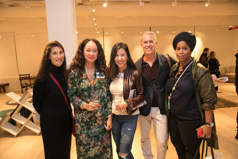 Cindy Wu, Rebecca Wu-Norman, Gina Lu, Gregory Tuck and Joy Moyler