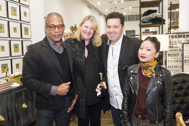 Roe Hamilton, Emma Smith, Phil Smith and Peti Lau