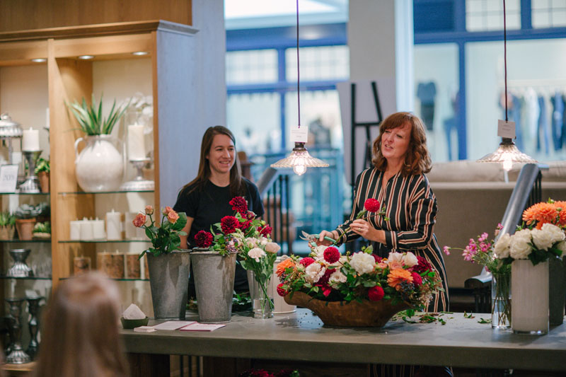 How to Arrange the Perfect Bouquet, with Pottery Barn