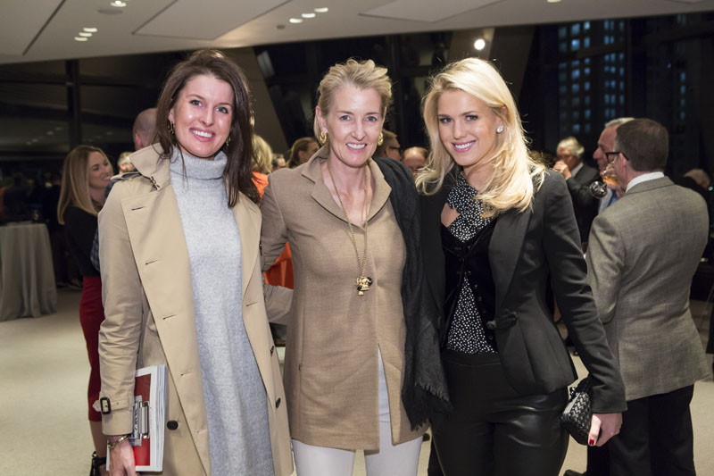 Liza Reetz, Betsy Shiverick and Julia Amory