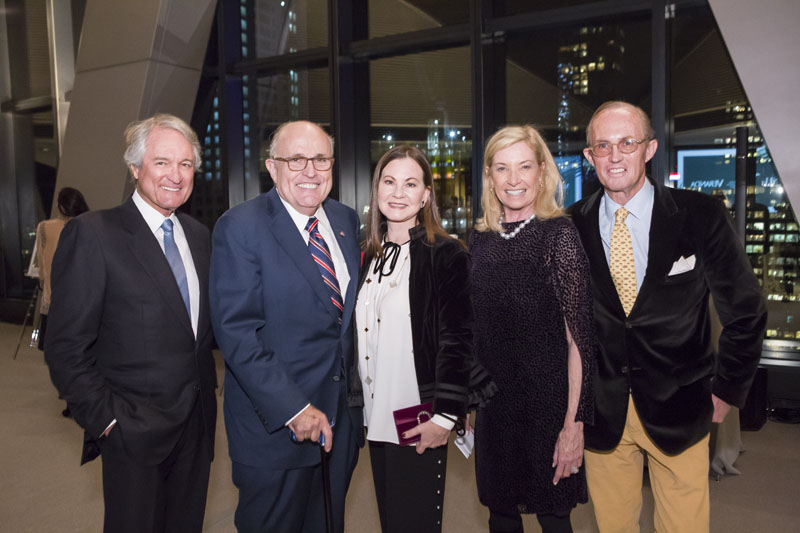 Jerry Seay, Rudy and Judith Giuliani, Pauline Pitt and Mark Gilbertson