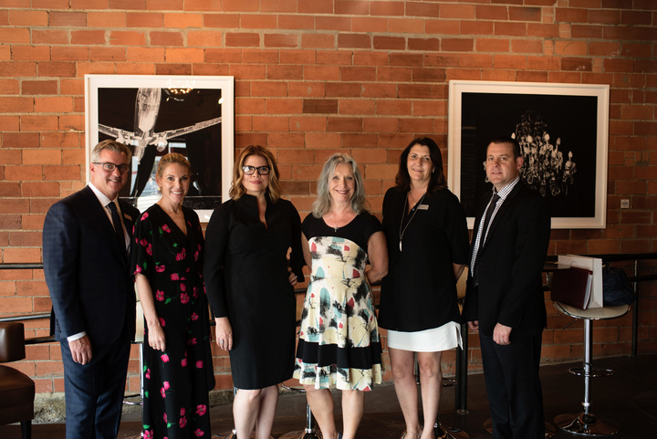 Presenters at the ROHL Auth Lux Summit in Dallas: Greg Rohl, Karen Marx, Denise McGaha, Pam Danziger, Juanita Galliford and Jason Artus