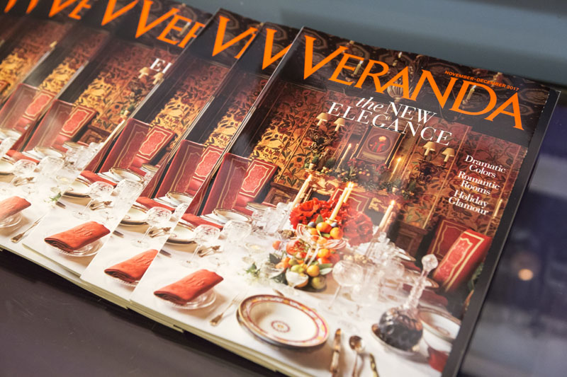 The November/December issue of Veranda