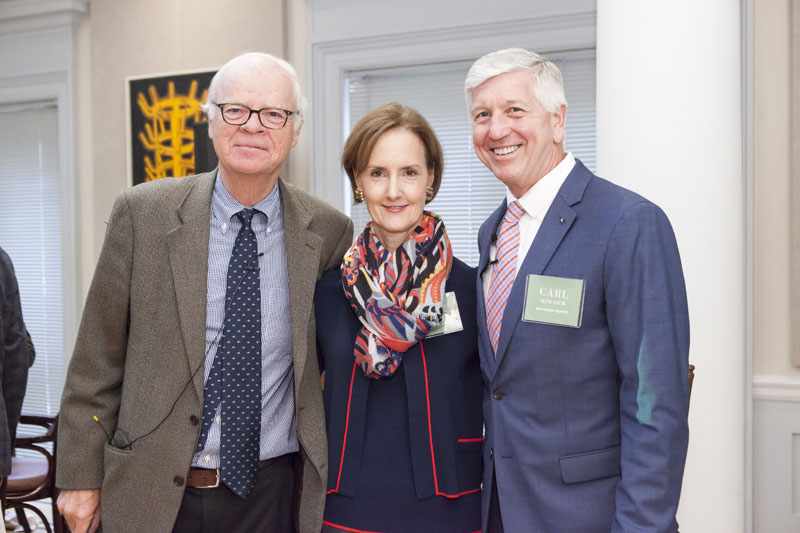 Robert Tierney, Kate Kelly Smith and Carl Minchew