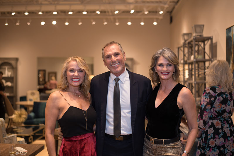 MaryAnn Hebrank, Vincente Wolf and LeTricia Wilbanks