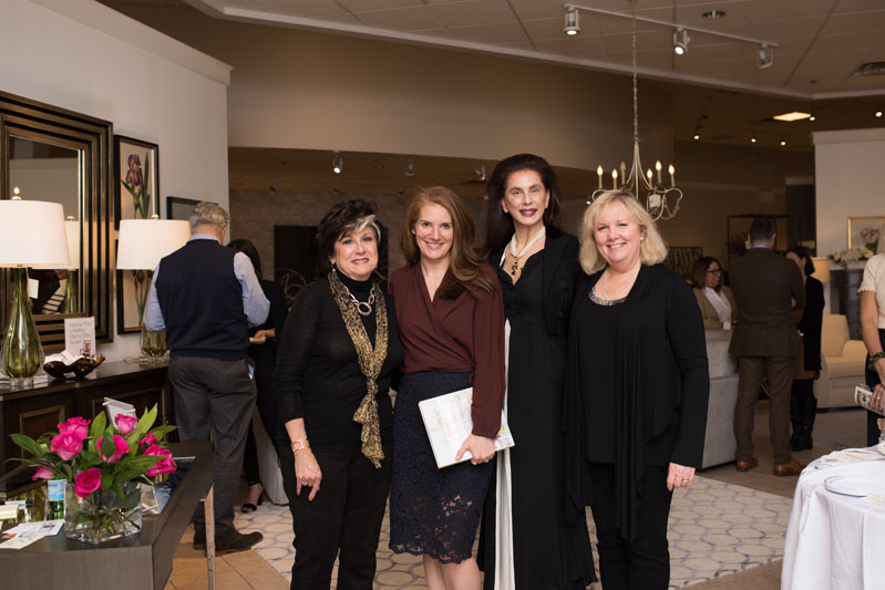 Karla Trincanello, Sophie Donelson, Joan Ravasy and Holly George