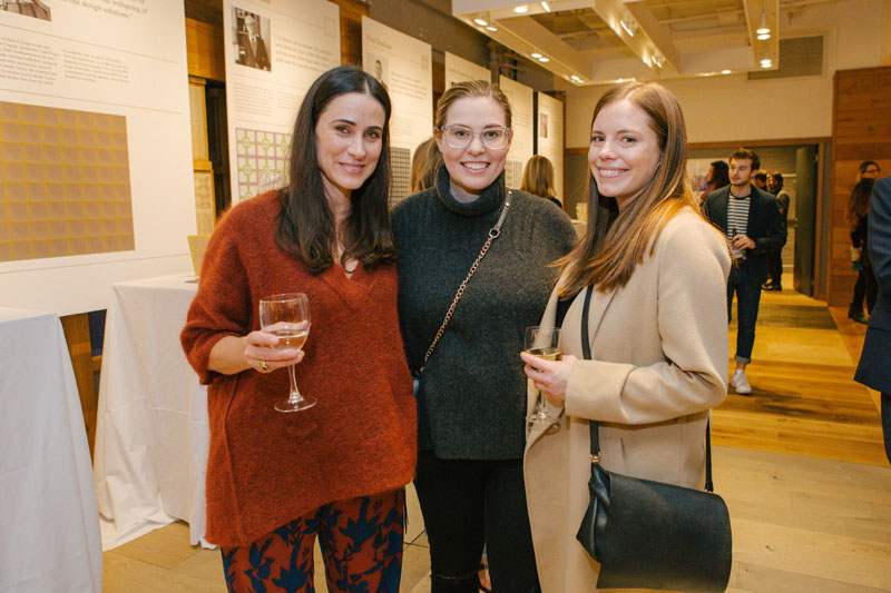 Amy Kehoe, Elizabeth Huebsch and Kate Bergeron