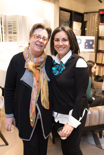 Martha Siegel of NYIT and Bridgette Gottlieb of Transitional Interiors