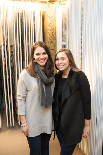Melissa Groher and Gabrielle Ambrose of New York Cottages & Gardens magazine