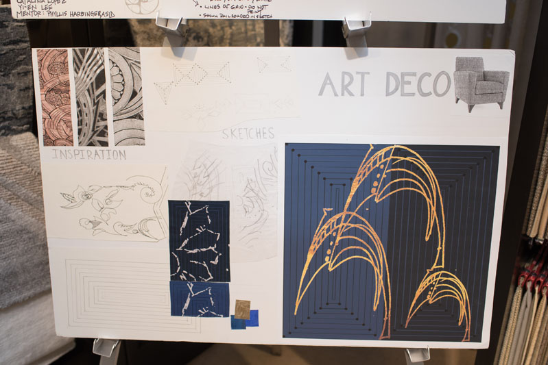 The Art Deco design board