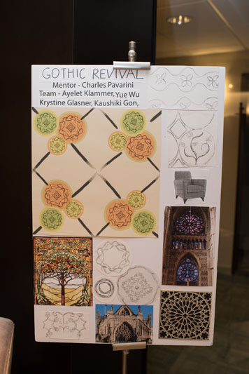 The Gothic Revival design board