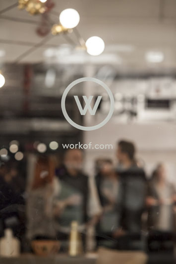 WorkOf showroom