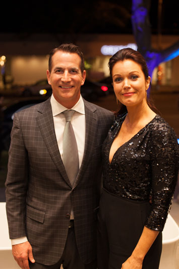 David Kohler and Bellamy Young
