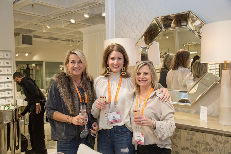 Marnie Clayton, Anna Kemper and Stephanie Wrenn of MACK Home