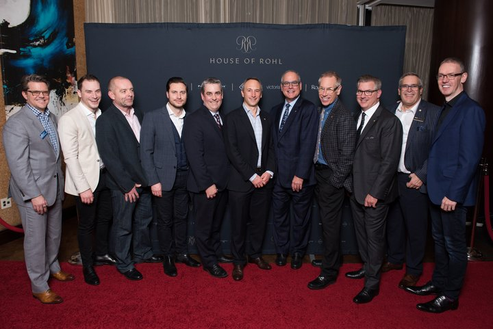 Mark-Hans Richer, Phil Cole, Richard Heseltine, David Cole, Eric Phelps, Nicholas Fink, Mark Rohl, Lou Rohl, Greg Rohl, Luc Lefebvre and David Dare