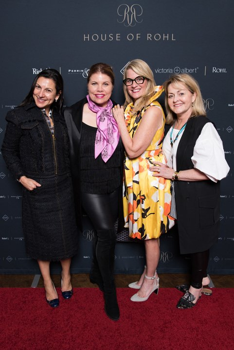 Rohl Auth Lux Designer Guild Members: Marcia Tucker, Denise McGaha, Julia Buckingham and Lisa Mende