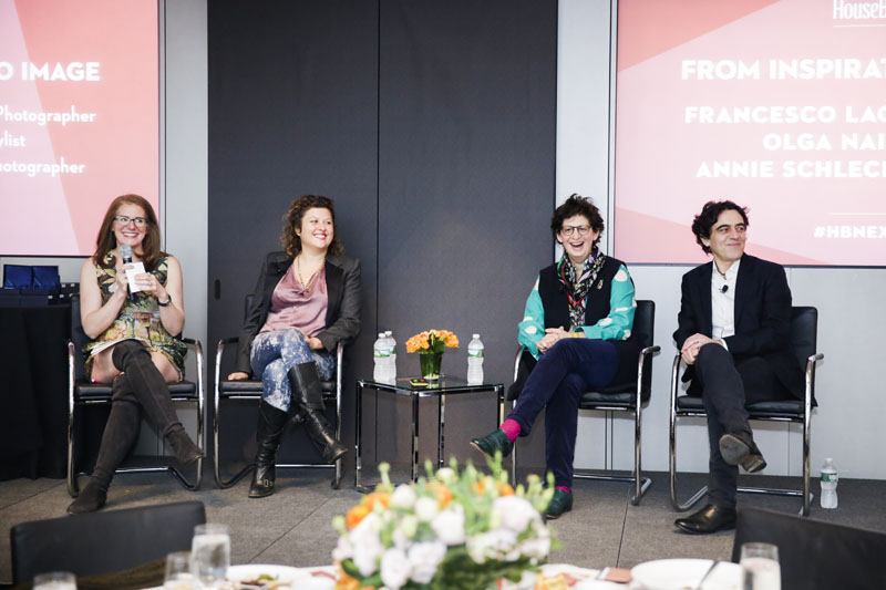 'From Inspiration to Image' panel discussion with Sophie Donelson, Olga Naiman, Annie Schlechter and Francesco Lagnese
