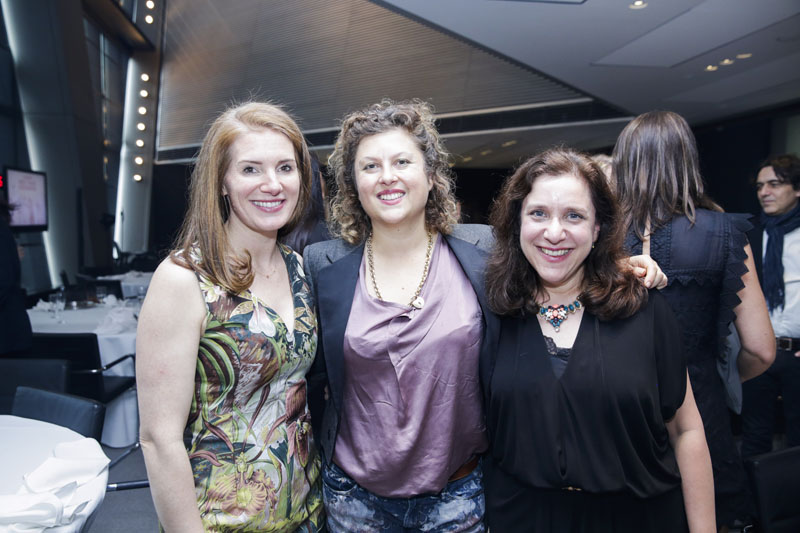 Sophie Donelson, Olga Naiman and Ingrid Abramovitch