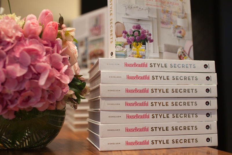 'Style Secrets' book stack