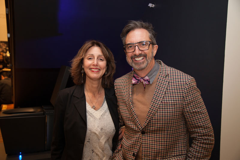 Karen Figilis and Peter Gurski