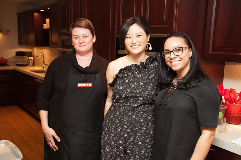 Stephanie Bone, Catherine Kwong and Monique Robinson