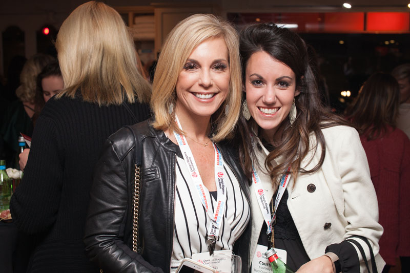 Design bloggers Traci Connell and Courtney Eads