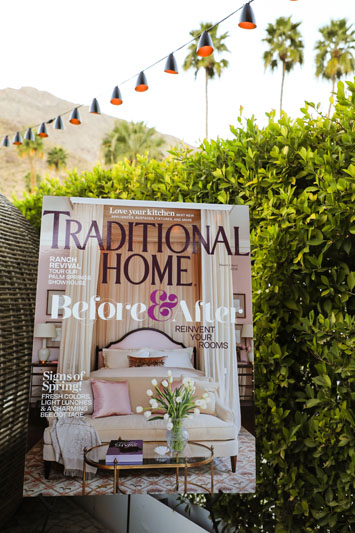 The latest Traditional Home magazine cover