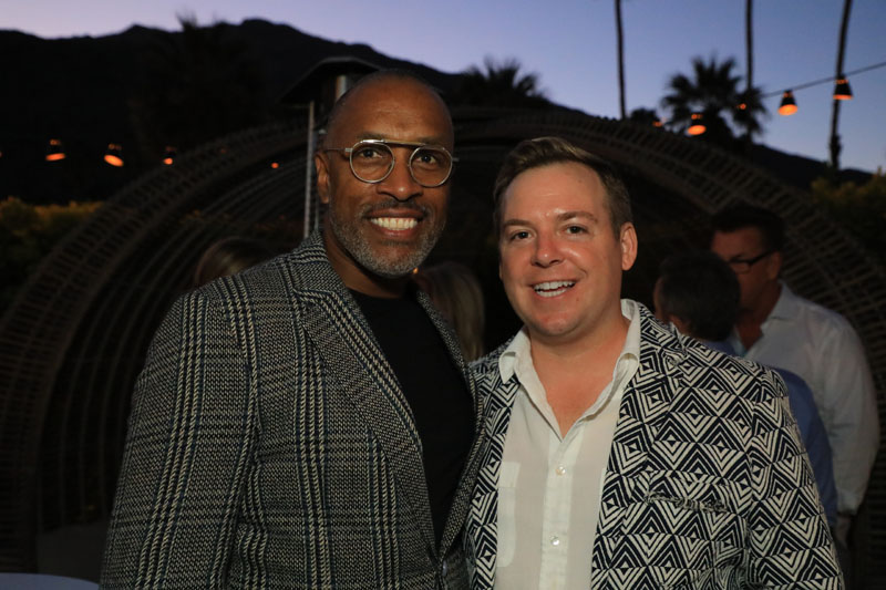 Ron Woodson and Christopher Kennedy