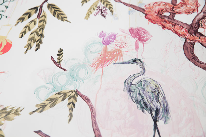 Ferrick Mason's new fabric and wallpaper design in celebration of 10 years in business